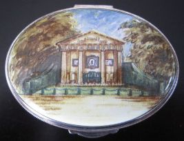 althorp enamel box